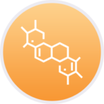 Custom chemical compund icon
