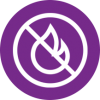 Flame retardent icon